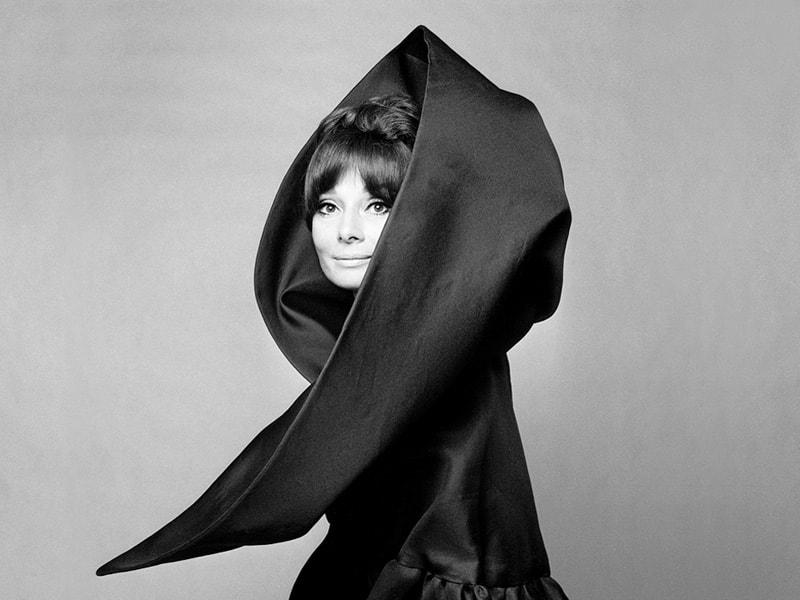 Джан Паоло Барбьери Одри Хепберн для Valentino Vogue Italia, Рим, 1969 Из личного архива фотографа